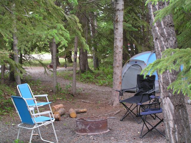 Camping sundre